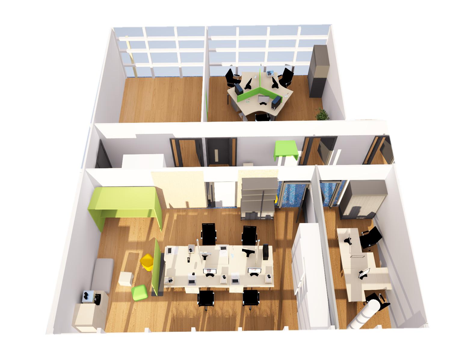 Aménagement de bureaux open space designer d espace