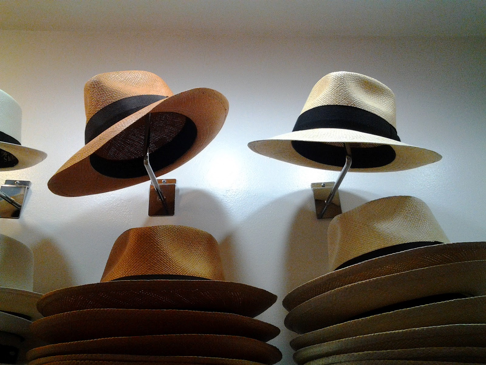 Panama Hats in New York from The Hat House in Soho NYC