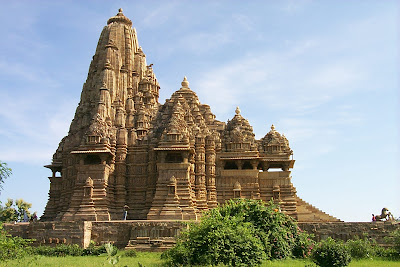 World Heritage Site Khajuraho Temple