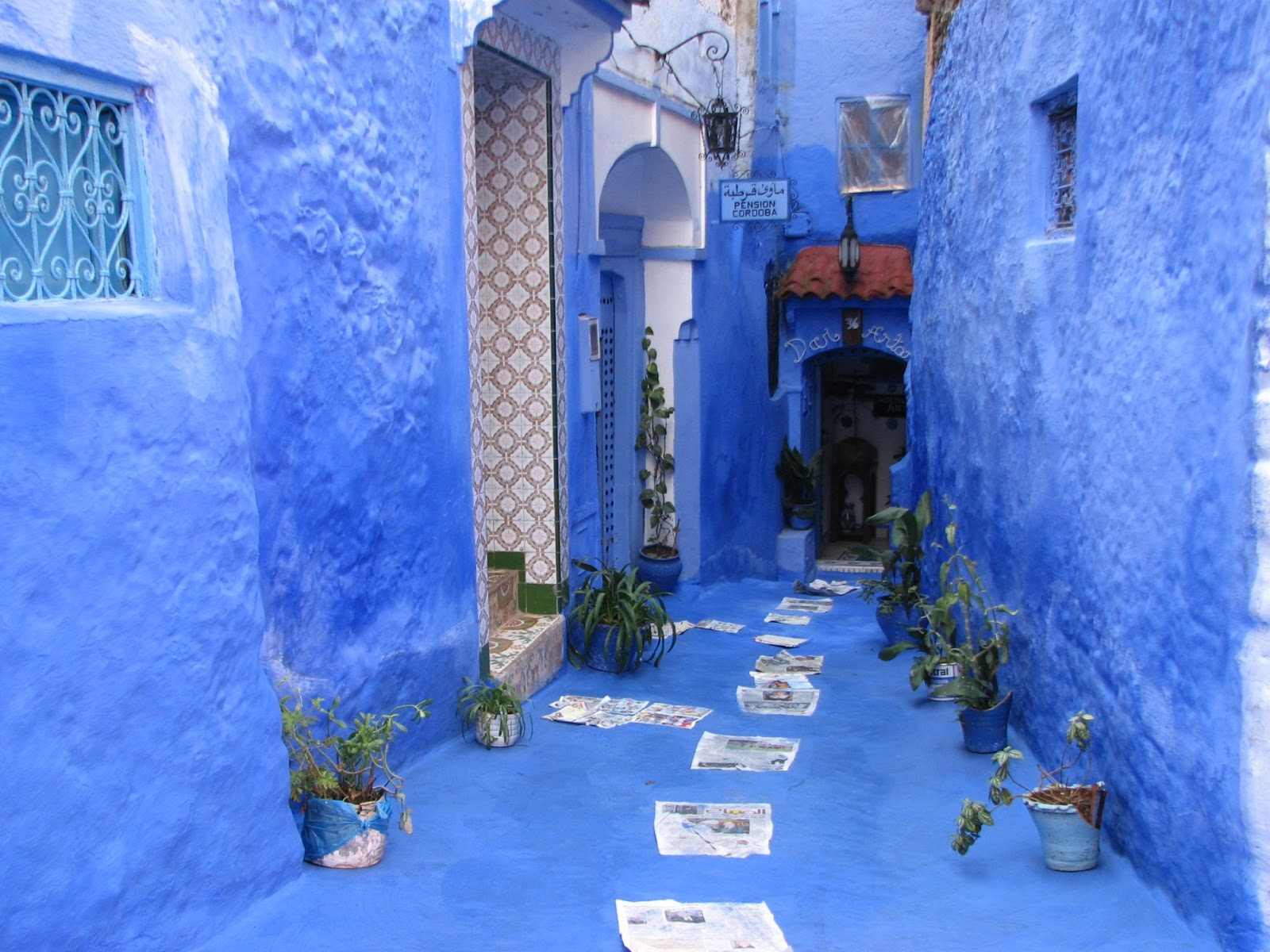 chefchaouen the blue city morocco travel