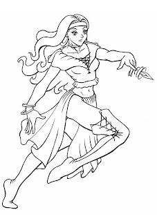 Desenhos de Princesas para imprimir e colorir