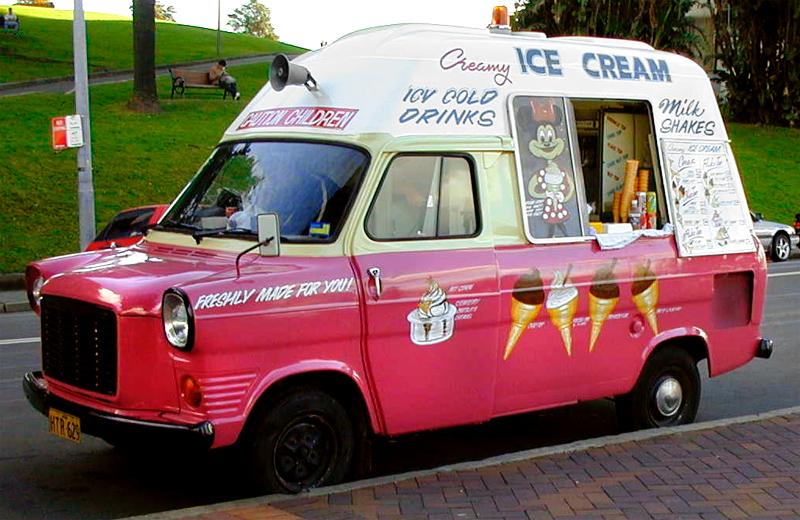 Vintage Ice Cream Trucks 101