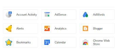 Cara Membuat Menu Dengan Icon Mirip Akun Google