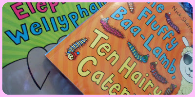 Nick sharratt toddler books