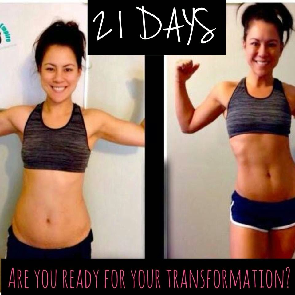 21 day fix before and after body transformation results