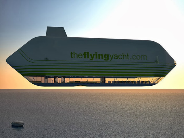FLYING HOUSE Futuristic Airships And Flying Yachts Made