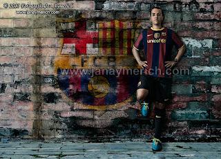 Força Barça!! Composición fotográfica Photoshop Barcelona