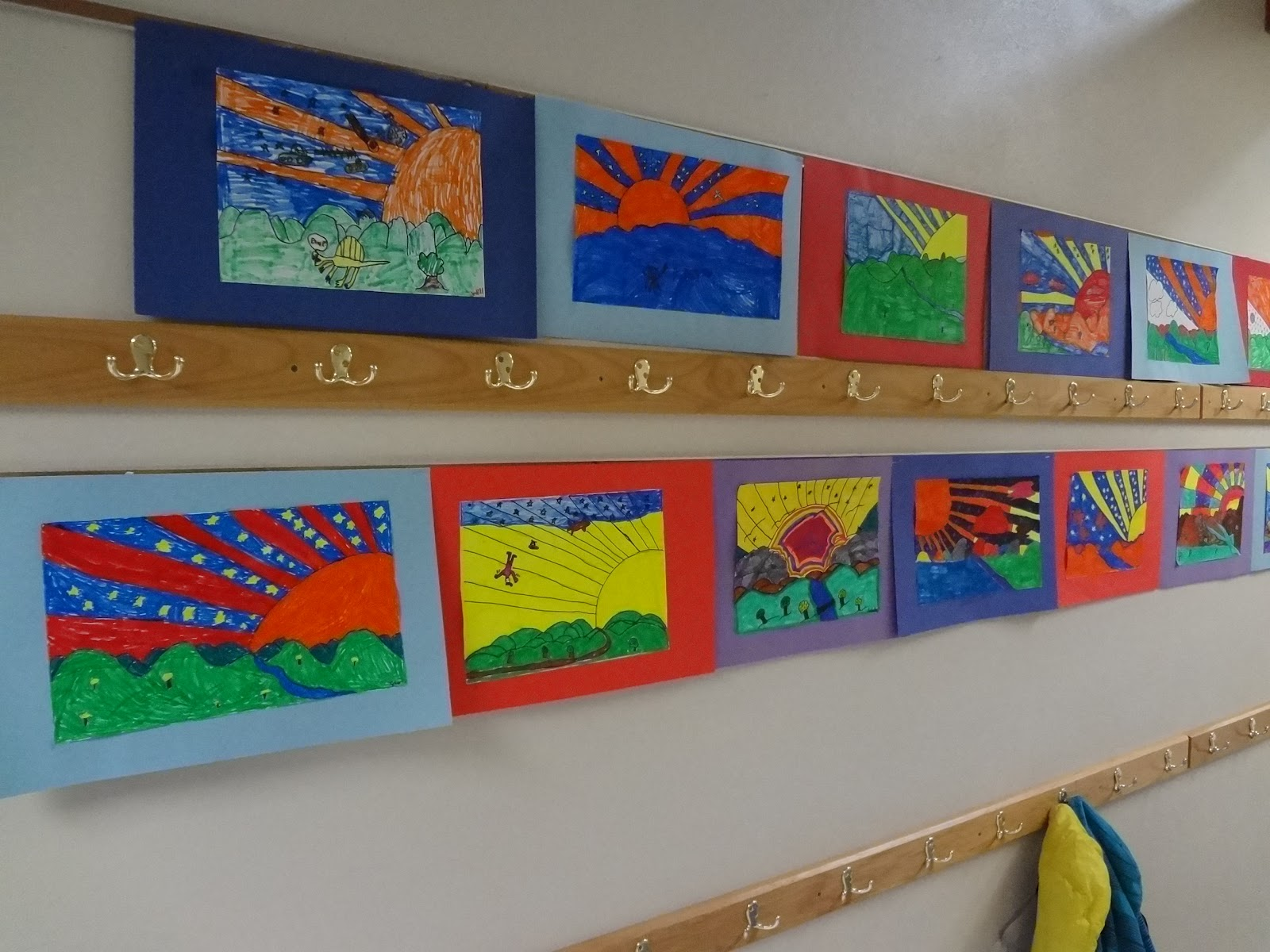The Talking Walls: Peter Max Artist Lesson for Grades 3 - 6