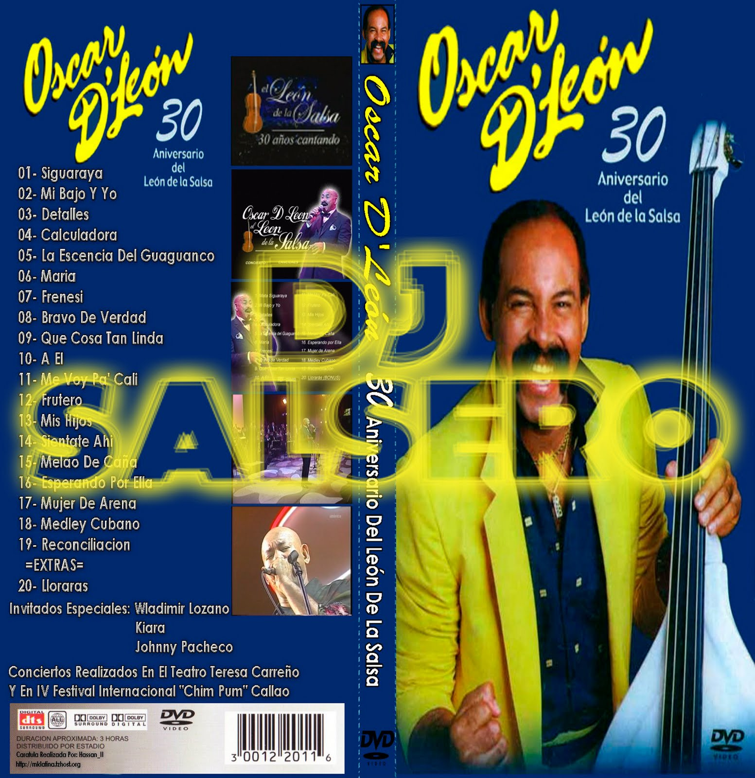 Willy Chirino besides Discografia Oscar Leon  pleta Megadisco together with Oscar Dleon 30 Anos En Vivo also Viti Ruiz further El Veradadero Leo. on oscar d leon discografia