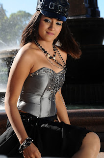 Trisha Krishnan Spicy Movie Stills Item Song Spicy Sleeveless Top