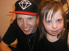 "Chloe with ""Chris"" the Lead Singer of the Christian Group MANAFEST"