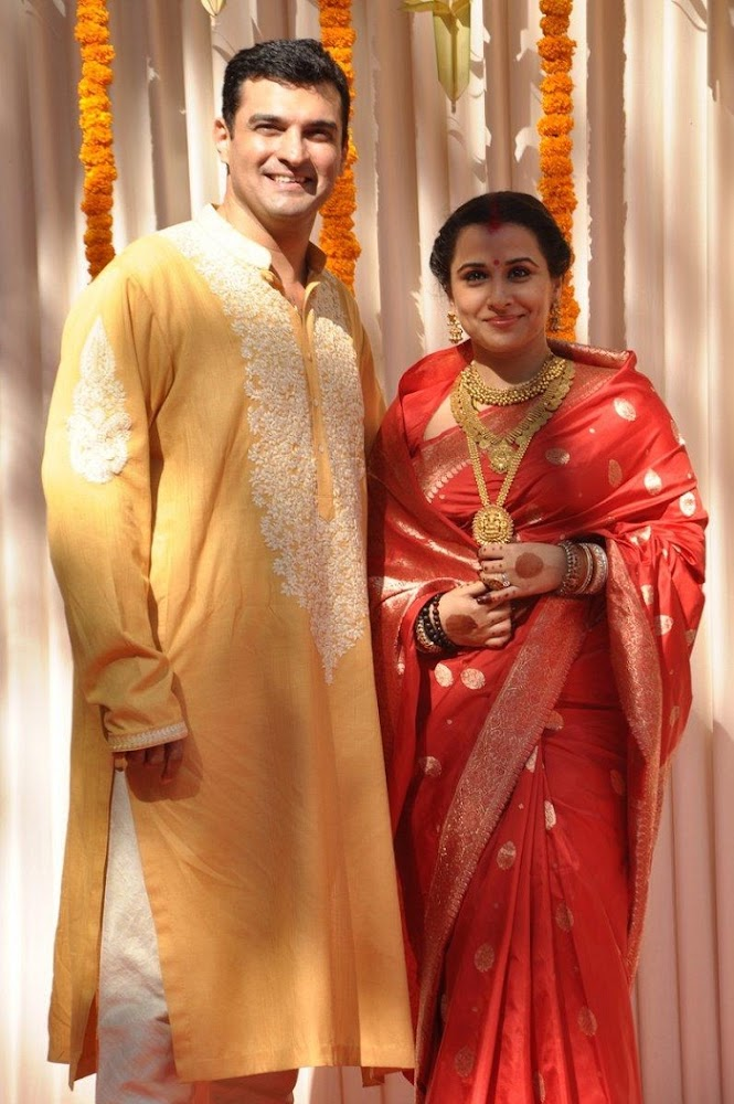 Vidya Balan Wedding Photos: Vidya Balan and Siddharth Roy Kapur Wedding Photos