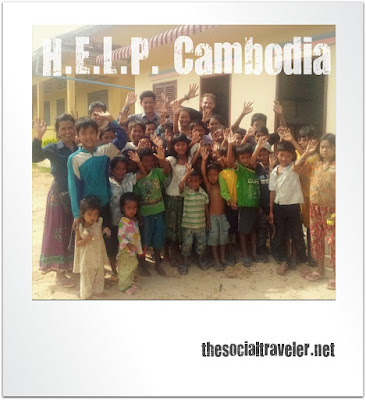 Village Health and Community Development project in Cambodia supported by The Social Traveler