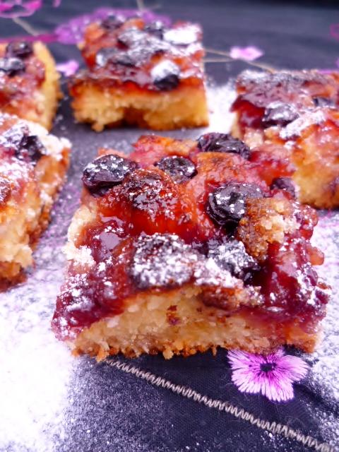 Nigel Slater Marzipan Berry Cakes
