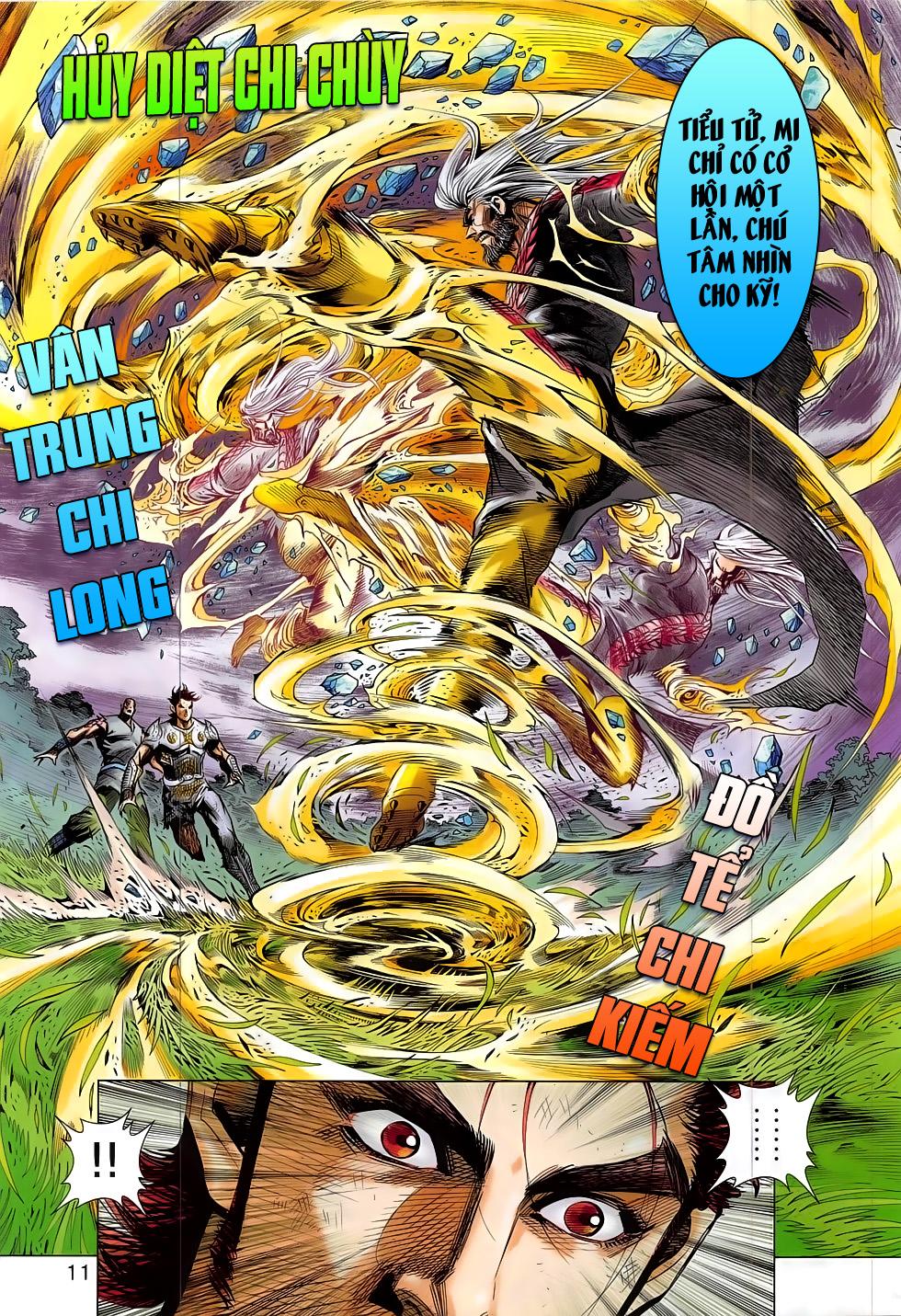 Thần Chưởng trang 11