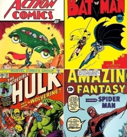 Comics famosos y no tanto de todos los tiempos y países