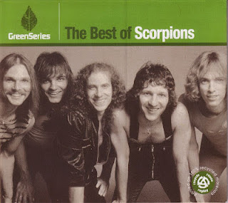 Best of Scorpions Green Series CD Capa