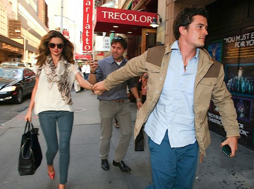 Are Miranda Kerr And Orlando Bloom Living Separate Lives? » Gossip | Miranda Kerr | Orlando Bloom