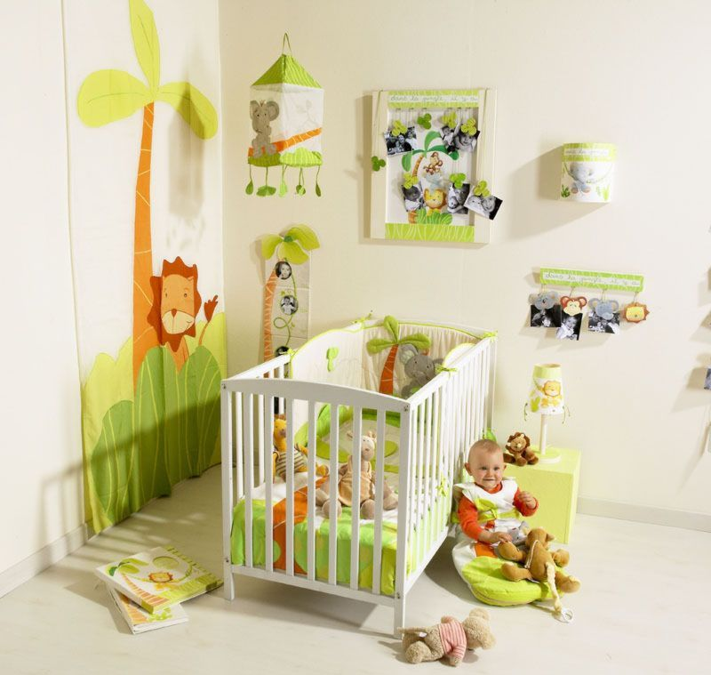 Baby bedroom decoration decor de chambre a coucher de bebe for Decor chambre coucher