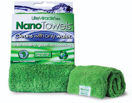 "Nano ""Magical"" Towel Cleans With Only Water"