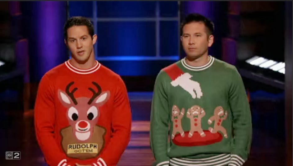 shark tank tipsy elves sales