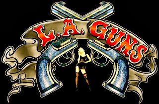 Guns N' Roses naam herkomst - LA Guns logo