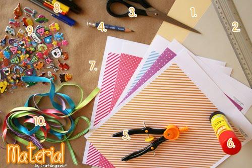 Tarjeta Circular desplegable | Mundo Manualidades