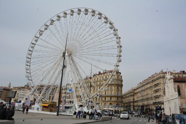 Vieux Port Marseille Ferris Wheel