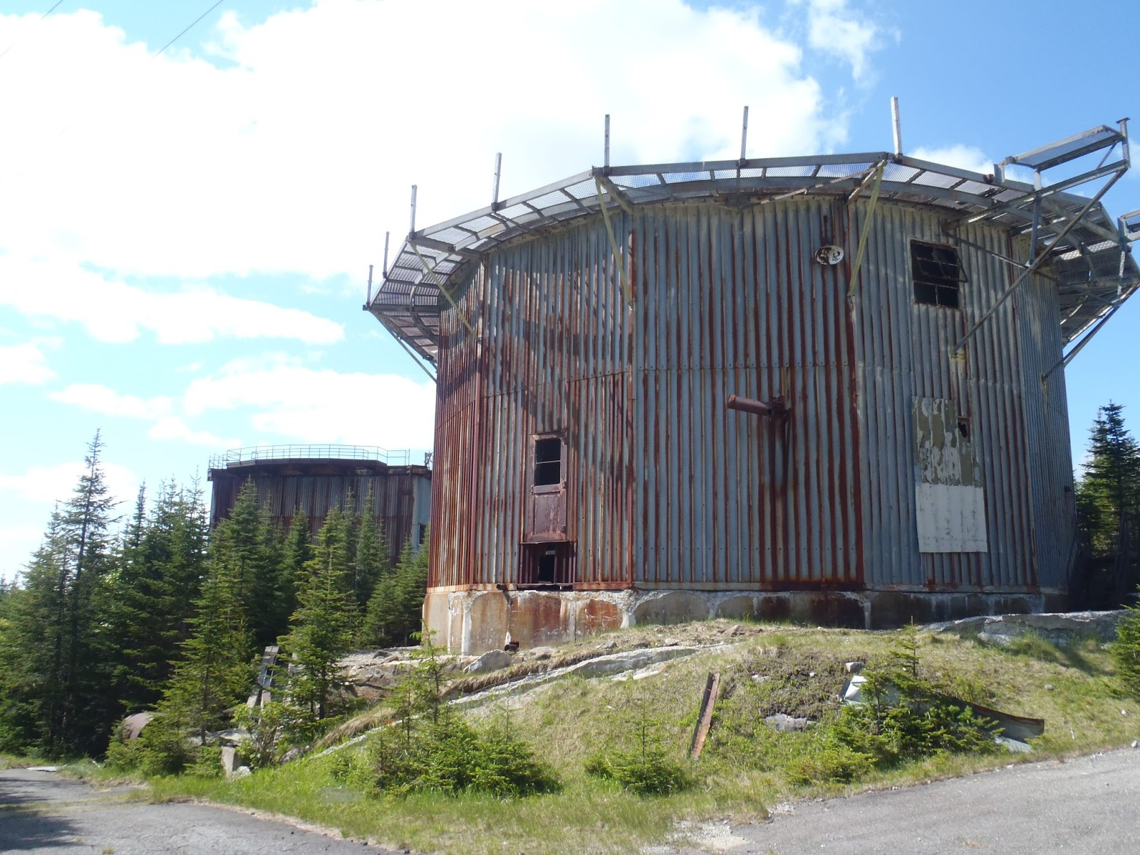 Of life east mountain vermont and abandoned cold war military base