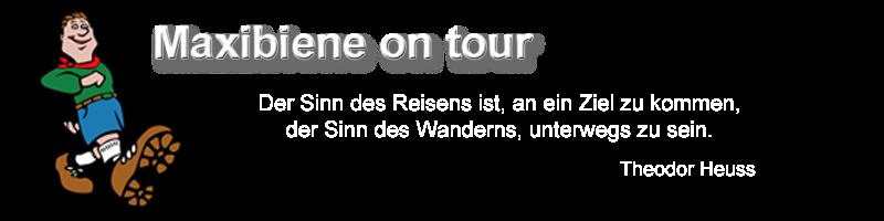 Maxibiene on tour