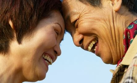 5 Mind-Bending Benefits of Being Married - asian couple man woman old older people