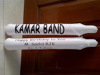 Balon Tepuk Kamar Band