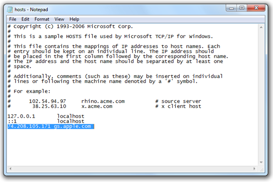 Your hosts file could be pointing to either apple or saurik server jomsocial zend resolve error