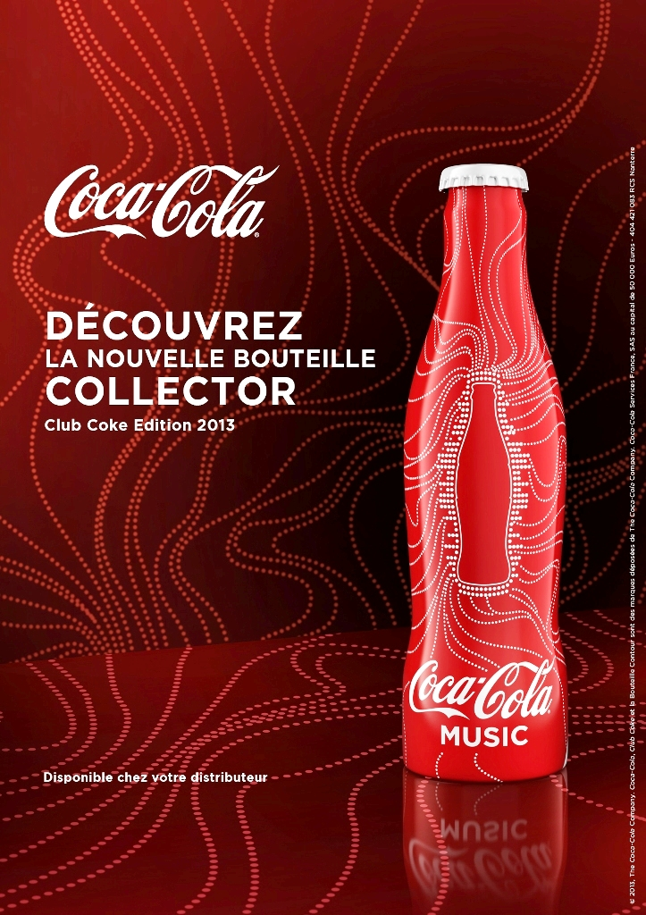 aluminum bottle collector club coca cola coke club 2013 aluminum bottle france. Black Bedroom Furniture Sets. Home Design Ideas