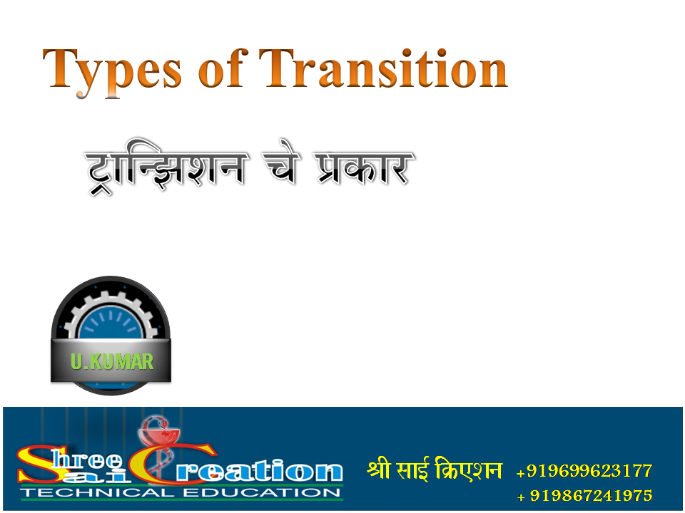 types of transitions Free essay: explain how different types of transition can affect children and young people's development transitions are changes that take place in our life.