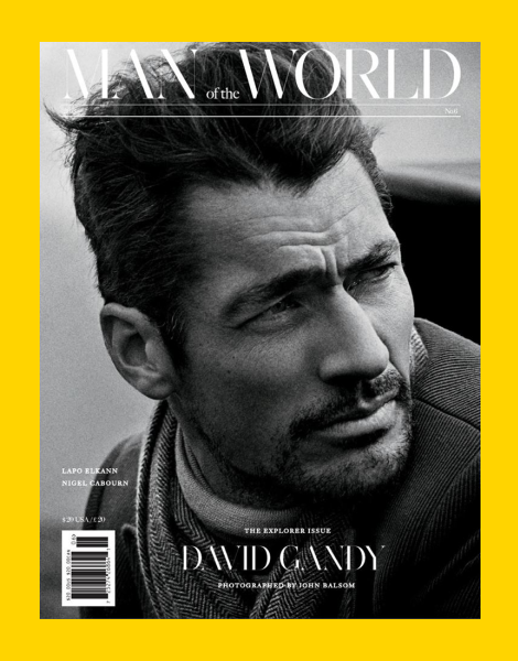 David Gandy covers Man of the World issue 6