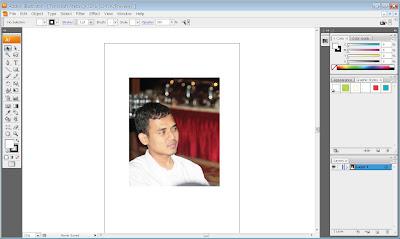 Tracing Foto Sederhana