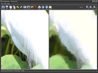 Pintando com o FotoSketcher - pormenor 1