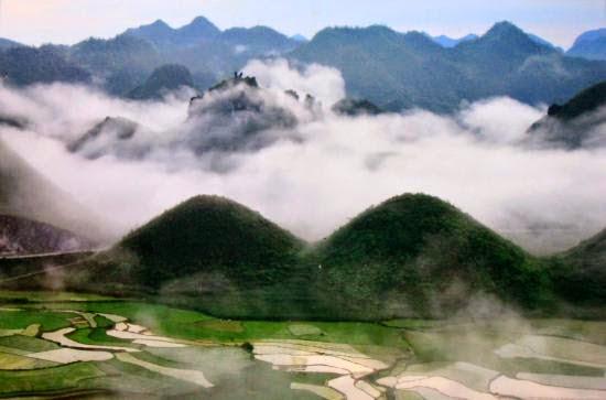 Quan Ba fairy mountain.