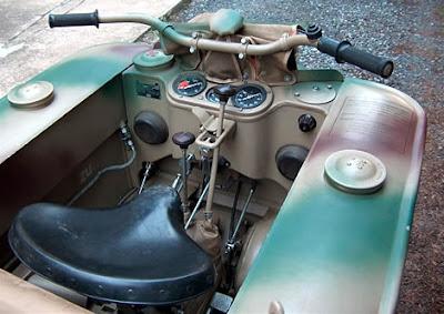 WW II Kettenkrad a moto Tank usada na segunda guerra mundial