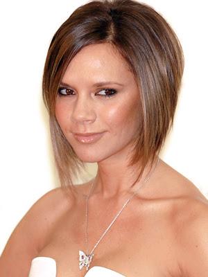 victoria beckham pob - posh's bob - short bob hairstyle