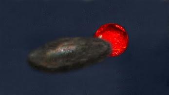 Estrella eclipsada por un objeto enigmático