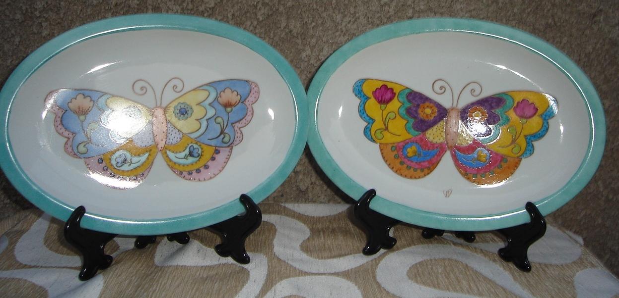 Vittorina disegno agosto 2012 - Platos ceramica colores ...