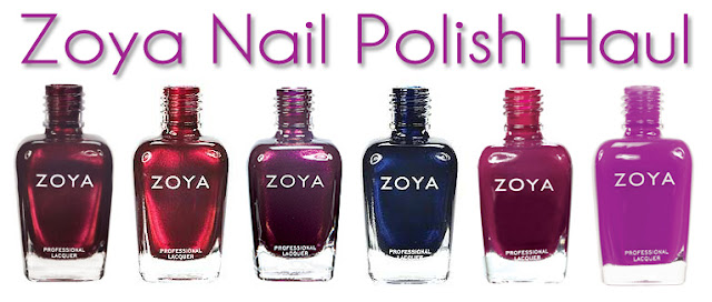 Zoya Nail Polish Haul
