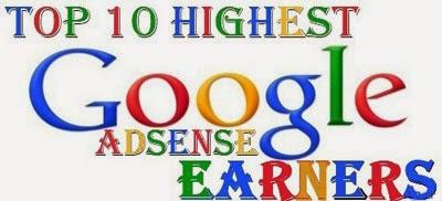 Daftar Top 10 Orang Tersukses Bersama Google AdSense-blog kang miftah