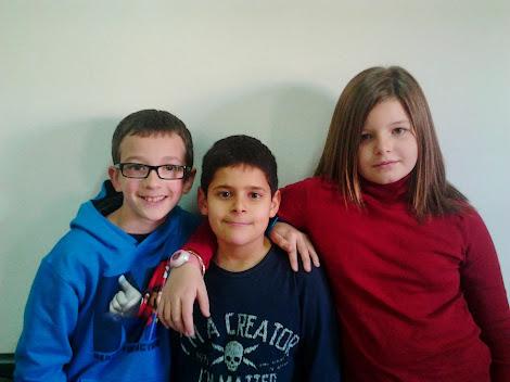 Luke, Juán y Andrea
