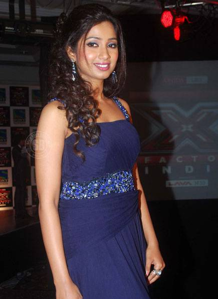 Shreya Ghoshal  X Factor  - Shreya Ghoshal X Factor Launch Party Stills