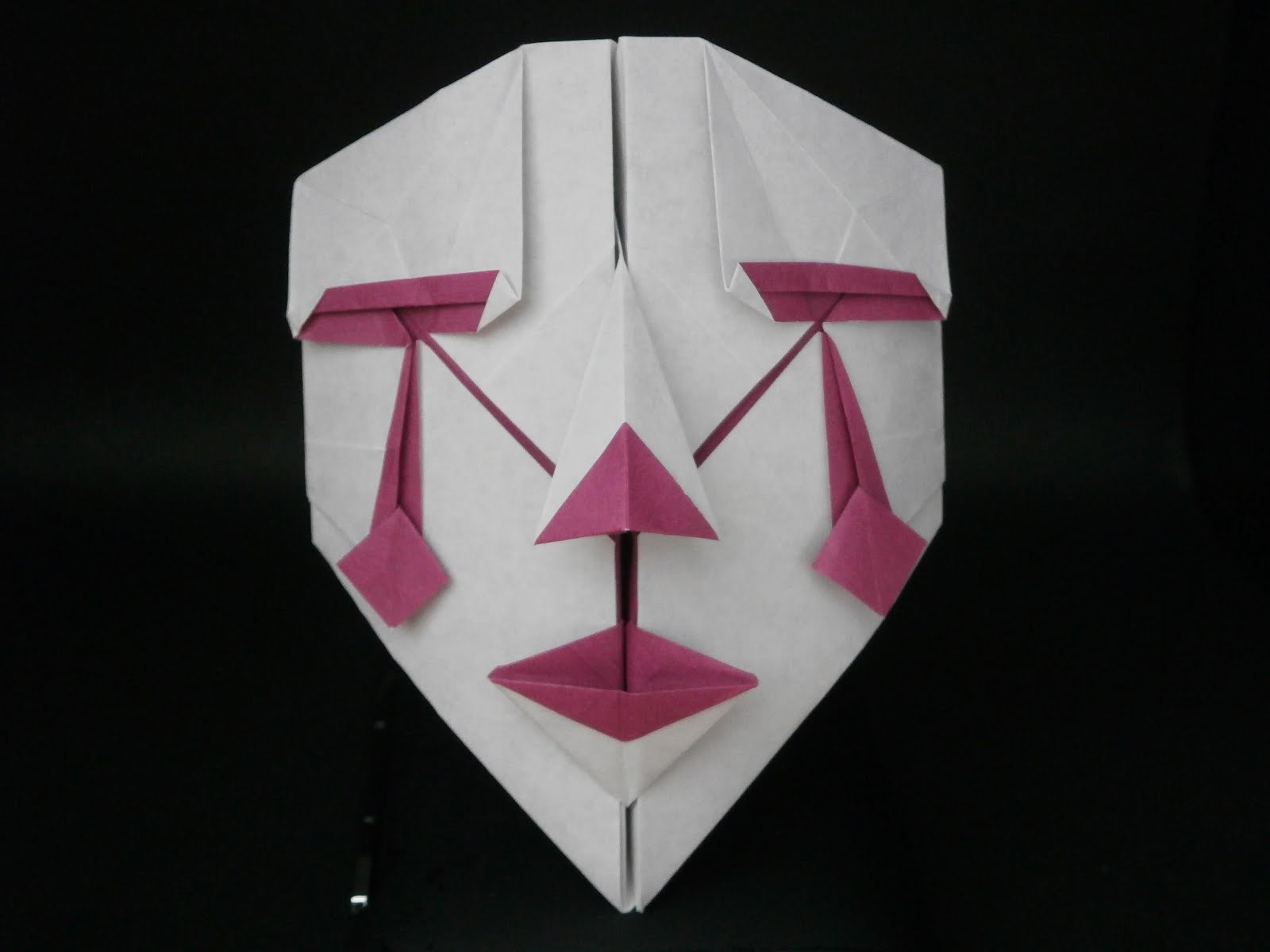 origami mask 28 images origami how to make a fox mask
