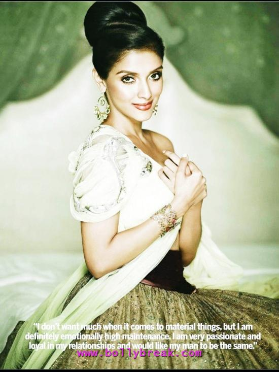 Asin with Hair Bun in Magazine Scan - Asin Hot Unseen Magazine Scan