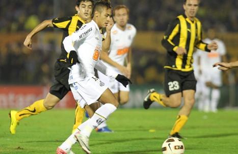 Image santos y pe arol disputar n la final de copa libertadores 2011